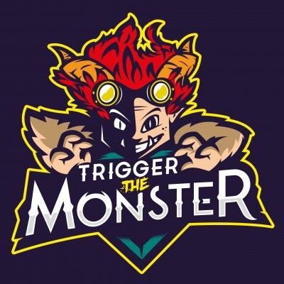 Trigger the monster logo